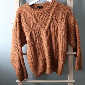 Rustic Orange Forever 21 Sweater